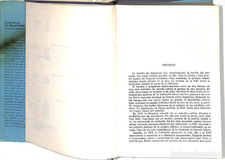 Libros de segunda mano: LA BATALLA DE INGLATERRA - PETER TOWNSEND - PLAZA Y JANES - Foto 3 - 278520528