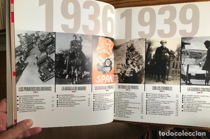 Libros de segunda mano: Las brigadas internacionales. Imagenes recuperadas.Michel Lefebvre-Peña y Rémi Skoutelsky -NUEVO - Foto 12 - 280115118