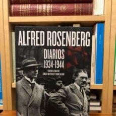 Libros de segunda mano: ALFRED ROSENBERG. DIARIOS 1934-1944. EDIC. J. MATTHAÜS Y F. BAJOHR. EDIT. CRÍTICA. NAZISMO. Lote 280121538