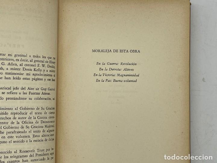 Libros de segunda mano: LIBRO DE WINSTON´S CHURCHILL MEMORIA TRIUNFO Y TRAGEDIA VOLUMEN VI - Foto 3 - 282898013