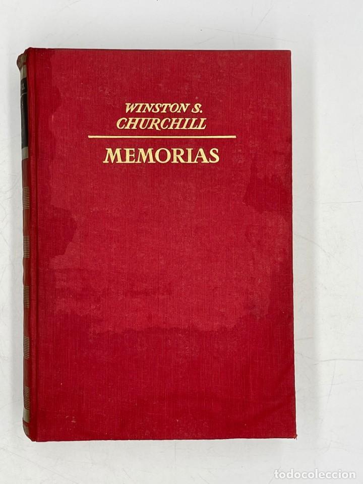 LIBRO DE WINSTON´S CHURCHILL MEMORIA EL AÑILLO SE CIERRA VOLUMEN V (Libros de Segunda Mano - Historia - Segunda Guerra Mundial)