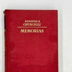Libros de segunda mano: LIBRO DE WINSTON´S CHURCHILL MEMORIA EL AÑILLO SE CIERRA VOLUMEN V. Lote 282898883