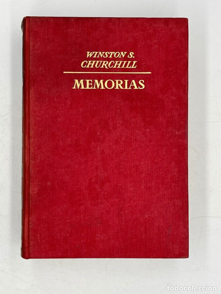 LIBRO DE WINSTON´S CHURCHILL MEMORIAS EL GOZNE DEL DESTINO VOLUMEN IV (Libros de Segunda Mano - Historia - Segunda Guerra Mundial)