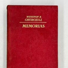 Libros de segunda mano: LIBRO DE WINSTON´S CHURCHILL MEMORIAS EL GOZNE DEL DESTINO VOLUMEN IV. Lote 282899438