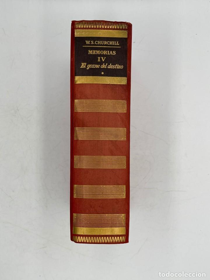 Libros de segunda mano: LIBRO DE WINSTON´S CHURCHILL MEMORIAS EL GOZNE DEL DESTINO VOLUMEN IV - Foto 3 - 282899438