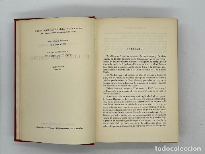 Libros de segunda mano: LIBRO DE WINSTON´S CHURCHILL MEMORIAS EL GOZNE DEL DESTINO VOLUMEN IV - Foto 4 - 282899438