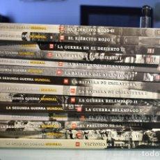Libros de segunda mano: LA SEGUNDA GUERRA MUNDIAL- TIME LIFE/ FOLIO (14 VOLÚMENES). Lote 283298083