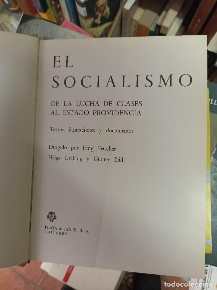 IRING FETSCHER. SOCIALISMO. DE LA LUCHA DE CLASES AL ESTADO DE PROVIDENCIA (Libros de Segunda Mano - Historia - Segunda Guerra Mundial)