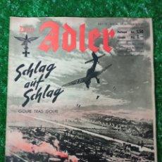 Livros em segunda mão: ANTIGUA REVISTA ALEMANA 17/9/1940 DER ADLER SEGUNDA GUERRA MUNDIAL NUM.19. Lote 286416468