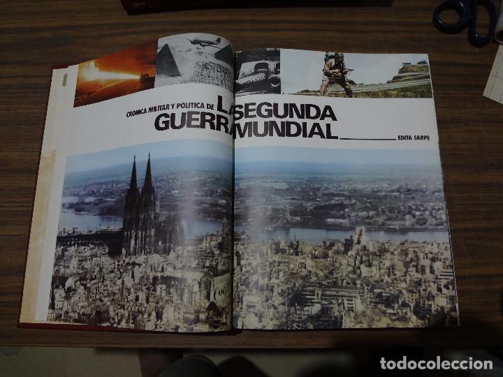Libros de segunda mano: CRONICA MILITAR Y POLITICA DE LA SEGUNDA GUERRA MUNDIAL - SARPE - VOLUMEN QUINTO - Foto 5 - 287045018