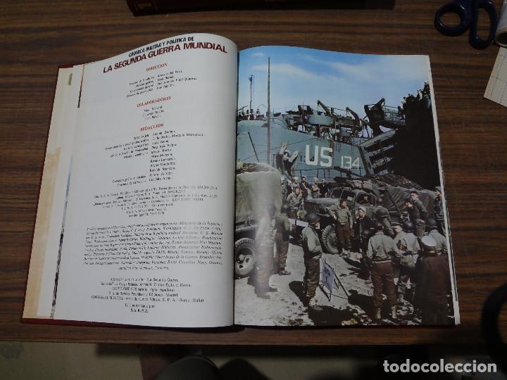 Libros de segunda mano: CRONICA MILITAR Y POLITICA DE LA SEGUNDA GUERRA MUNDIAL - SARPE - VOLUMEN QUINTO - Foto 6 - 287045018
