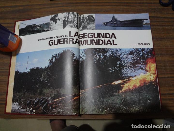Libros de segunda mano: CRONICA MILITAR Y POLITICA DE LA SEGUNDA GUERRA MUNDIAL - SARPE - VOLUMEN TERCERO - Foto 5 - 287045118