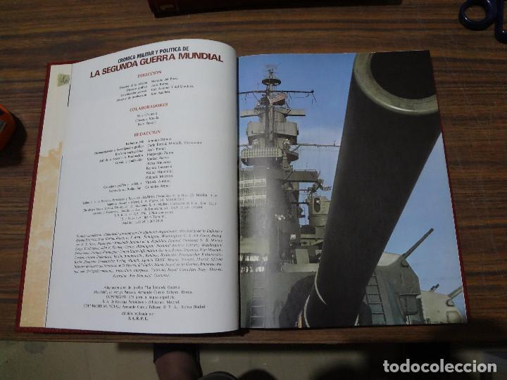 Libros de segunda mano: CRONICA MILITAR Y POLITICA DE LA SEGUNDA GUERRA MUNDIAL - SARPE - VOLUMEN TERCERO - Foto 6 - 287045118