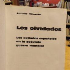 Libros de segunda mano: ANTONIO VILANOVA, LOS OLVIDADOS. Lote 288086658