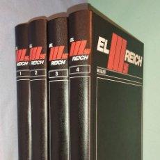 Libros de segunda mano: EL III (TERCER) REICH DE NOGUER AÑO 1974 CUATRO TOMOS OBRA COMPLETA. Lote 288950853