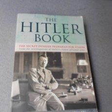 Libros de segunda mano: THE HITLER BOOK. Lote 294376298