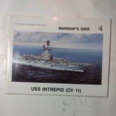 Libros de segunda mano: WARSHIPS DATA, USS INTREPID CV 11. Lote 294552348
