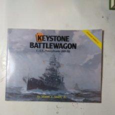 Libros de segunda mano: KEYSTONE BATTLEWAGON USS PENNSYLVANIA. Lote 294552438