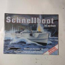 Libros de segunda mano: SCHNELLBOOT IN ACTION. Lote 294552488