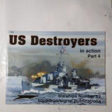 Libros de segunda mano: US DESTROYERS IN ACTION PART 4. Lote 294552578