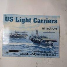 Libros de segunda mano: US LIGHT CARRIER IN ACTION NUMBER 16. Lote 294552803
