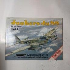 Libros de segunda mano: JUNKERS JU88 IN ACTION PART 2. Lote 294553008