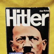 Libros de segunda mano: HITLER - ALAN WYKES - EDITORIAL SAN MARTÍN 1970. Lote 295508848