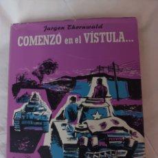 """Libros de segunda mano: JURGEN THORNWALD.""""COMENZÓ EN EL VÍSTULA"""".. Lote 295511673"""