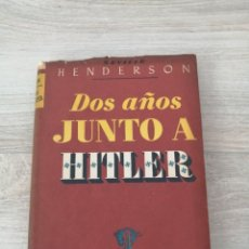 Libros de segunda mano: DOS AÑOS JUNTO A HITLER. Lote 295520928