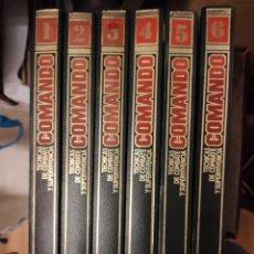 Libros de segunda mano: 6 TOMOS COMANDO COMPLETA,TÉCNICAS DE COMBATE Y SUPERVIVENCIA, PLANETA 1988. Lote 295524428
