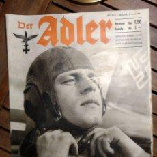 Libros de segunda mano: DER ADLER. REVISTA ALEMANIA. LUFTWAFFE. NÚM 11. 3 JUNIO 1941. VICTORIA GRECIA.. Lote 295550483