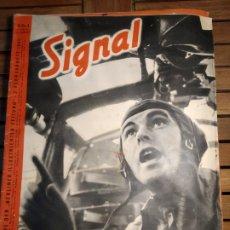 Libros de segunda mano: REVISTA SIGNAL II GUERRA MUNDIAL REVISTA ALEMAN/ESPAÑOL NÚM 4 FEBRERO 1941. SPITFIRES INGLATERRA. Lote 295553338