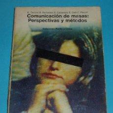 Libros de segunda mano: COMUNICACIÓN DE MASAS: PERSPECTIVAS Y MÉTODOS. E.TARRONI Y OTROS. Lote 21887874
