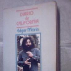 Libros de segunda mano: DIARIO DE CALIFORNIA DE EDGAR MORIN (FUNDAMENTOS). Lote 19598494