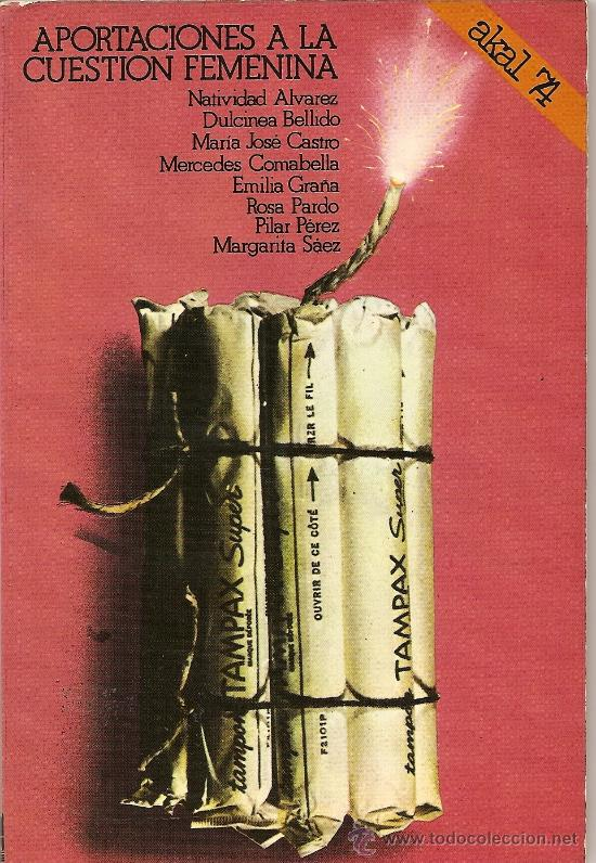 APORTACIONES A LA CUESTIÓN FEMENINA DE COLECTIVO FEMINISTA (VARIAS AUTORAS) (AKAL) (Libros de Segunda Mano - Pensamiento - Sociología)