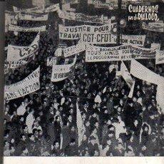 Libros de segunda mano: JOSÉ MARÍA MARAVALL. TRABAJO Y CONFLICTO SOCIAL. MADRID, 1967.. Lote 27251253