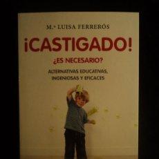 Libros de segunda mano: CASTIGADO. ¿ES NECESARIO? MªLUISA FERREROS. PLANETA. 2011 217 PAG . Lote 26739409