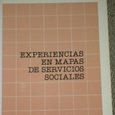 Libros de segunda mano: ANA MARÍA ANTÓN PREGO: EXPERIENCIAS EN MAPAS DE SERVICIOS SOCIALES, MADRID, 1988. Lote 28221258