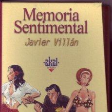 Libros de segunda mano: MEMORIA SENTIMENTAL. PACK 4 LIBROS. JAVIER VILLÁN.. Lote 35635972