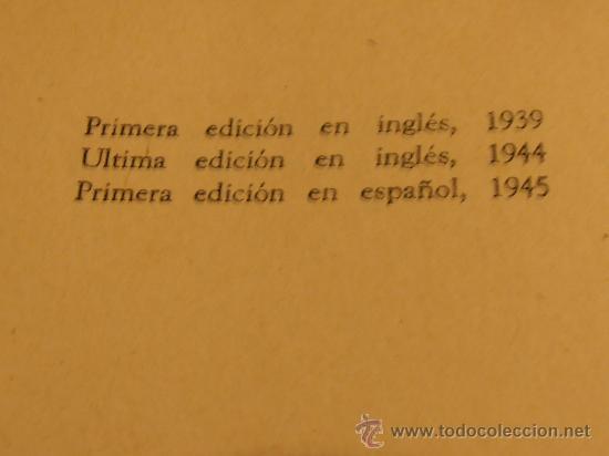 Libros de segunda mano: EL INDIVIDUO Y SU SOCIEDAD. ABRAM KARDINER, 1945 - Foto 3 - 30281798