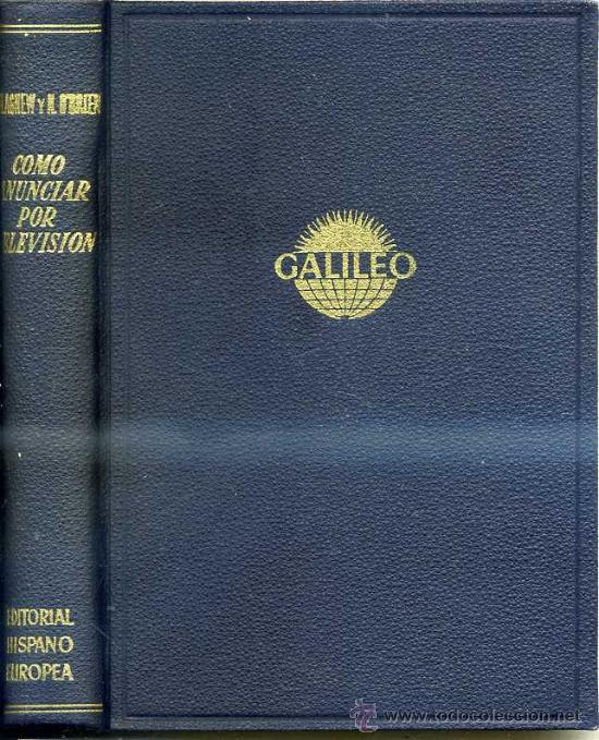 AGNEW / O'BRIEN : CÓMO ANUNCIAR POR TELEVISIÓN (1960) (Libros de Segunda Mano - Pensamiento - Sociología)