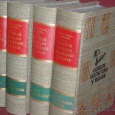 Libros de segunda mano: EL SOLAR CATALAN, VALENCIANO Y BALEAR, EL GARCÍA CARRAFFA, A. Y A.. 4 TOMOS. NUEVO. Lote 31965154