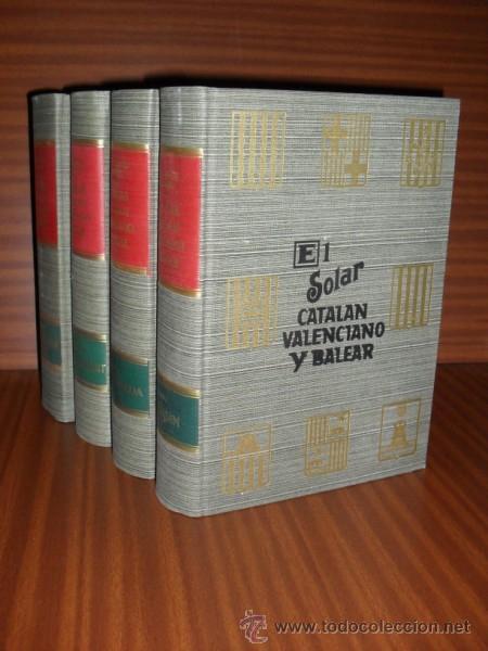Libros de segunda mano: EL SOLAR CATALAN, VALENCIANO Y BALEAR, EL García Carraffa, A. y A.. 4 tomos. NUEVO - Foto 2 - 31965154