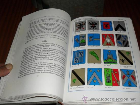 Libros de segunda mano: EL SOLAR CATALAN, VALENCIANO Y BALEAR, EL García Carraffa, A. y A.. 4 tomos. NUEVO - Foto 3 - 31965154