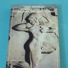 Libros de segunda mano: INTRODUCCIÓN A LA SOCIOLOGÍA DEL MITO GRIEGO. JOSÉ BERMEJO. Lote 32377067