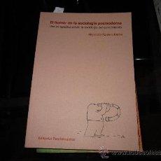 Libros de segunda mano: EL HUMOR EN LA SOCIOLOGÍA POSTMODERNA. ALEJANDRO ROMERO RECHE. 2010. Lote 32535219