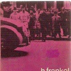 Libros de segunda mano: SOCIEDAD CAPITALISTA Y SOCIOLOGÍA MODERNA /// H. FRANKEL. Lote 32664175