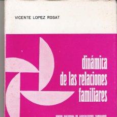 Libros de segunda mano: 1967. DINAMICA DE LAS RELACIONES FAMILIARES. Lote 33048531