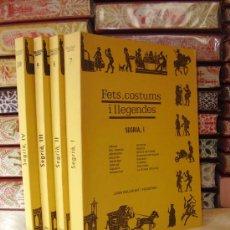 Libros de segunda mano: FETS, COSTUMS I LLEGENDES . SEGRIA . ( 4 VOL. ) AUTOR : BELLMUNT I FIGUERAS, JOAN / CURCÓ I PUEYO,. Lote 33406974