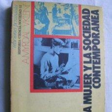 Libros de segunda mano: LA MUJER Y LA SOCIEDAD CONTEMPORÁNEA. MYRDAL, A. Y KLEIN, V. 1973. Lote 35232788